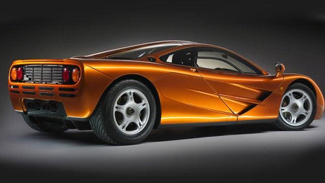 McLaren P1 Vs. F1: The Rear Quarter View