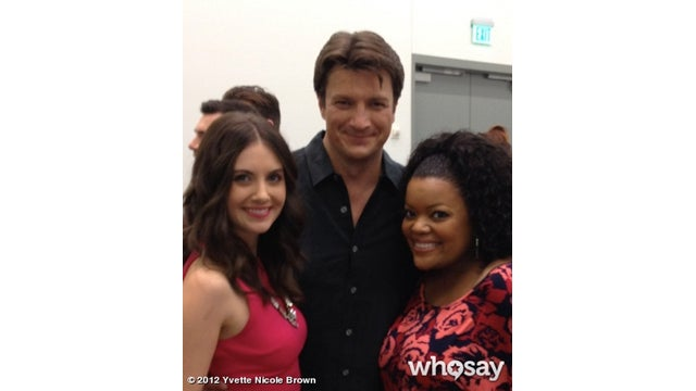 Nathan Fillion Is the Handsome Meat in a Gorgeous Community Sandwich