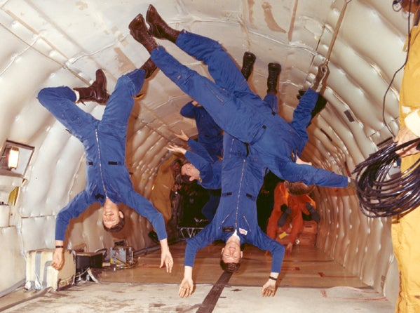 Space Chic: Artist Will Paint in Zero Gravity