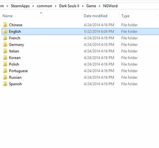 The Dark Souls 2 PC Name Censor - How To Avoid and Disable It