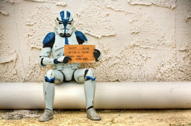 The Force be with you if you can help these homeless Star Wars toys