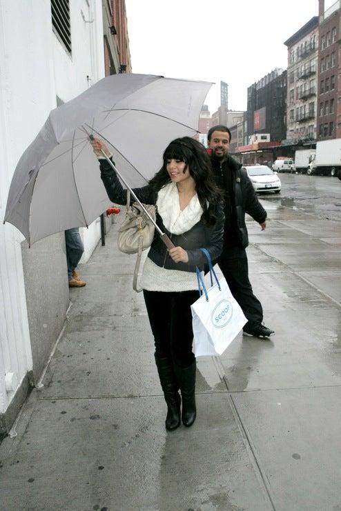 Enormous Umbrella Shield Fails to Protect