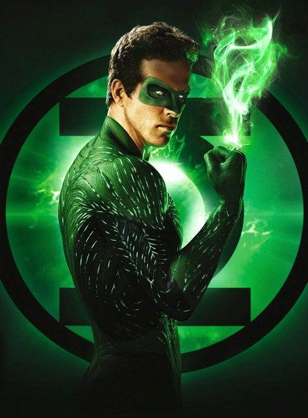 Green Lantern Promo Photo