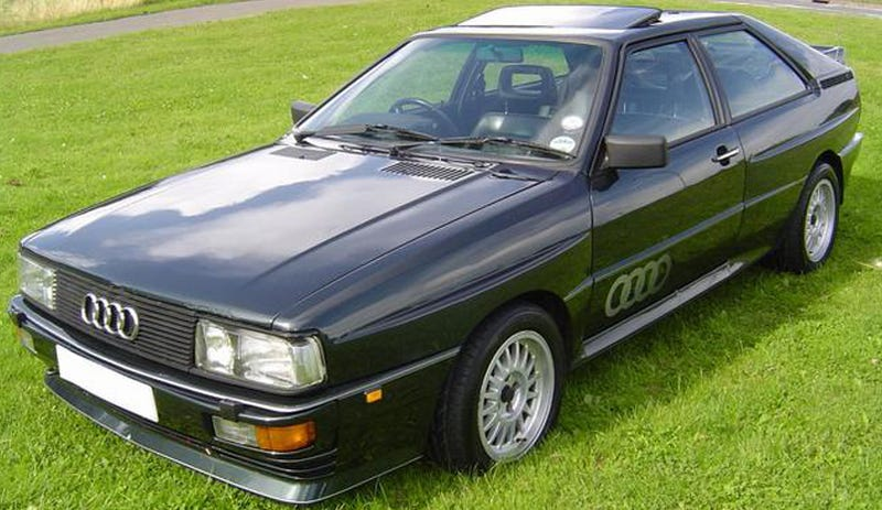 1987 Audi Quattro Turbo