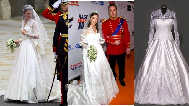 Royal Wedding Dress Predictably Inspires Envy, Copying