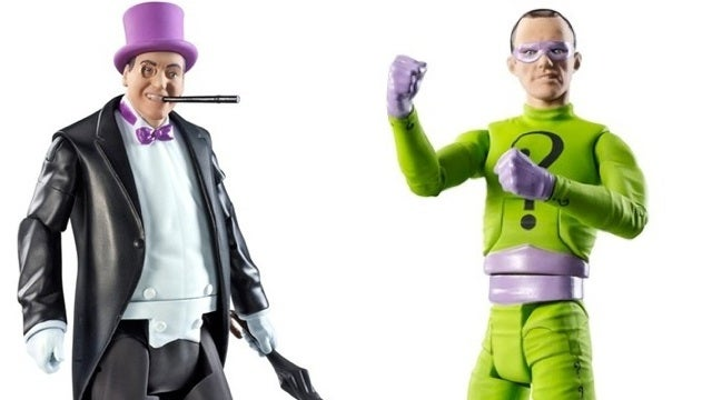 Holy action figures! It's the first Batman '66 toys!