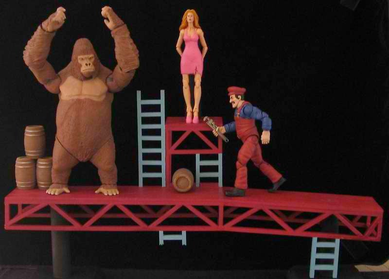 Donkey Kong Action Figures Get Mean (And Chesty)