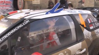 Watch The Winningest Rally Driver Ever Fix His Car With Ratchet Straps