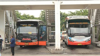 A Look Inside The Luxury Buses of Indonesia