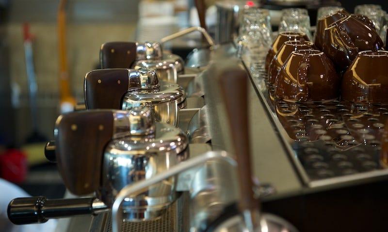 A Little $18,000 Espresso Machine Called Slayer