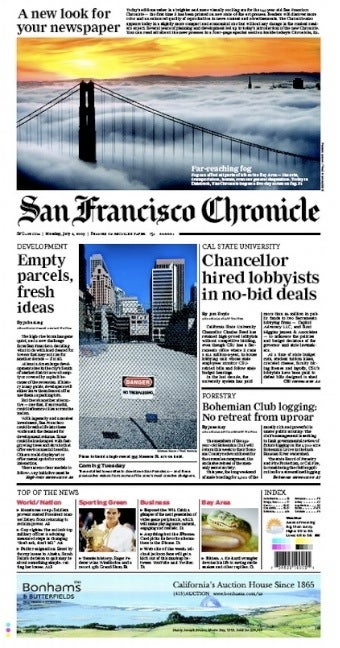 San Francisco Paper to Beat Back Internet With Advanced 'Newsprint' Technology