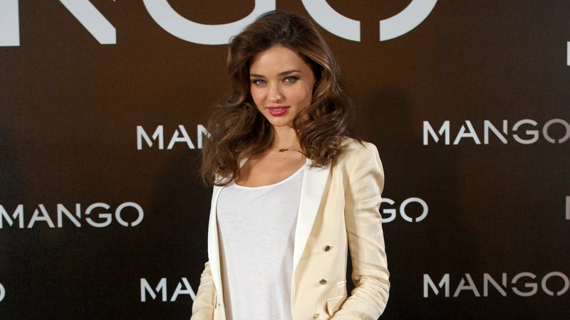 Miranda Kerr Says 'Never Say Never' to Bisexuality