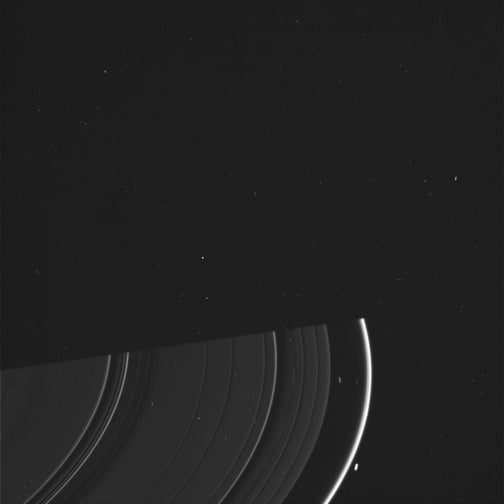 Saturn Goes Naked on Its Equinox