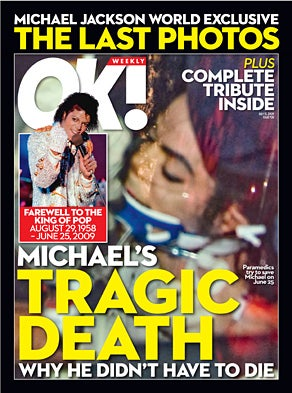 Desmond's $500K Gamble: OK! Goes for Broke with Macabre Michael Jackson Death Photo