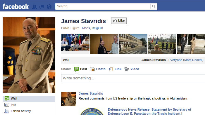 Chinese Spies Friended NATO Officials With a Fake Facebook Account