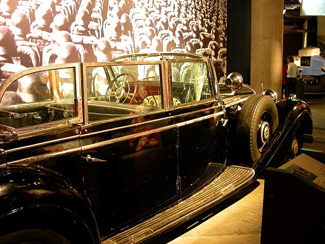 Hitler's Car on Display