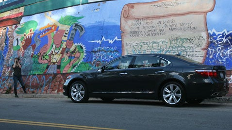 Lexus LS600h L, Part 2