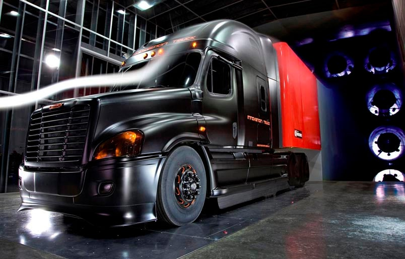 Freightliner Quot Innovation Truck Quot Has A Huge Aero Kit