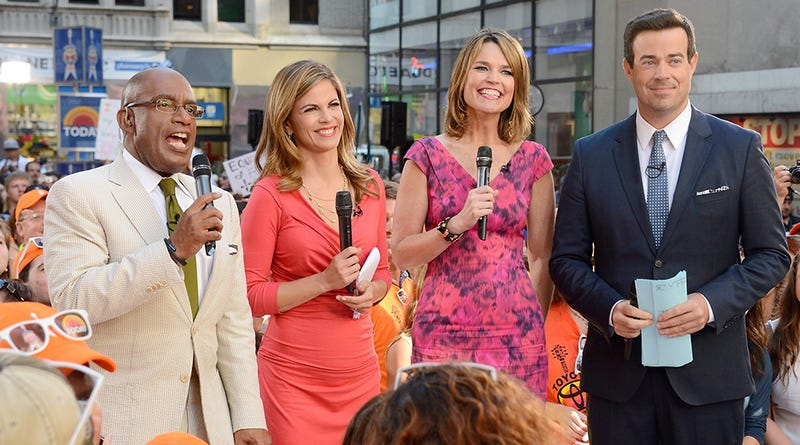 'Massive Tool' Carson Daly Joins Today Show