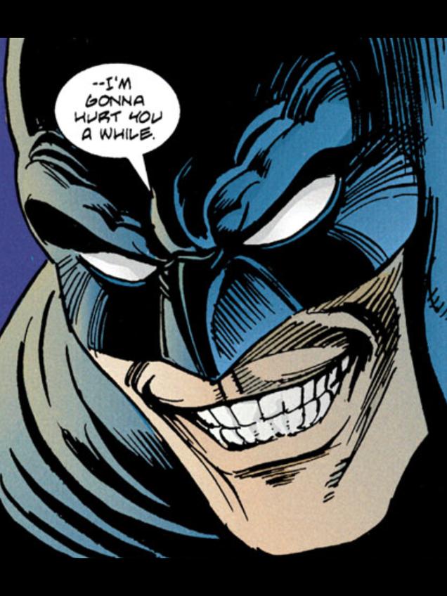 batman cartoon funny face