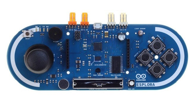 The Arduino Esplora Is the Perfect Beginner Arduino, No Electronics Experience Required
