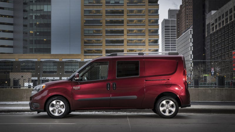 The Ram Promaster City Is Your Tiny Van That Looks Like A Snake