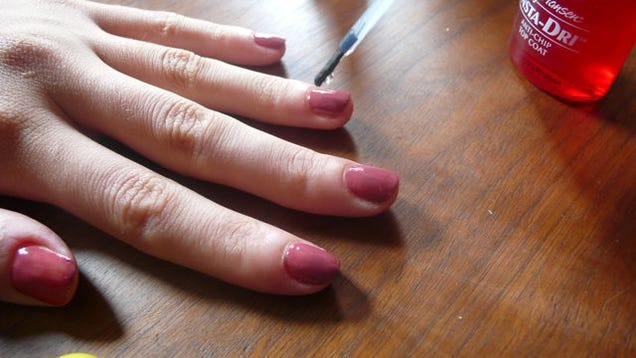 how to make gel manicure last