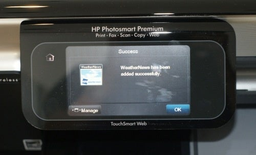 HP App Studio PhotoSmart Premium with TouchSmart Web Gallery
