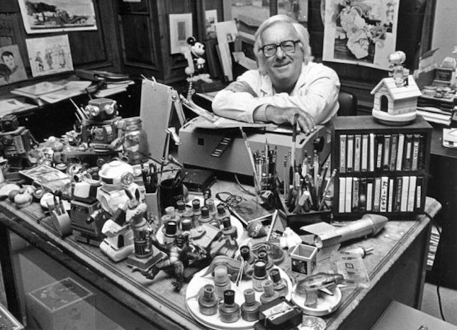Famous Scifi And Fantasy Authors In Their Workspaces