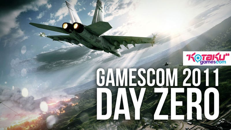 All Your Gamescom 2011 Day Zero News Right Here. Battlefield 3. Gears of War 3. Mass Effect 3. So Much More.