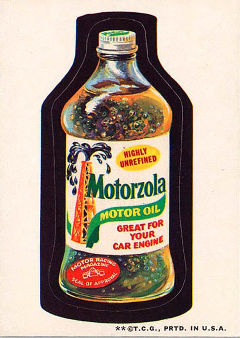 Valveater And Shot Wheels: Wacky Packages For Gearheads