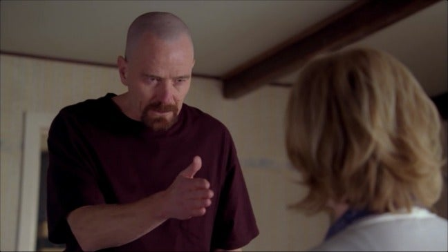 "Breaking Bad's ""The one who knocks"" as written by famous authors"
