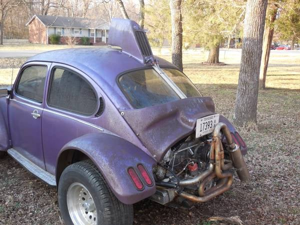 "CL: Purple 1974 ""Super Beetle BAHA"" has a Mohawk"