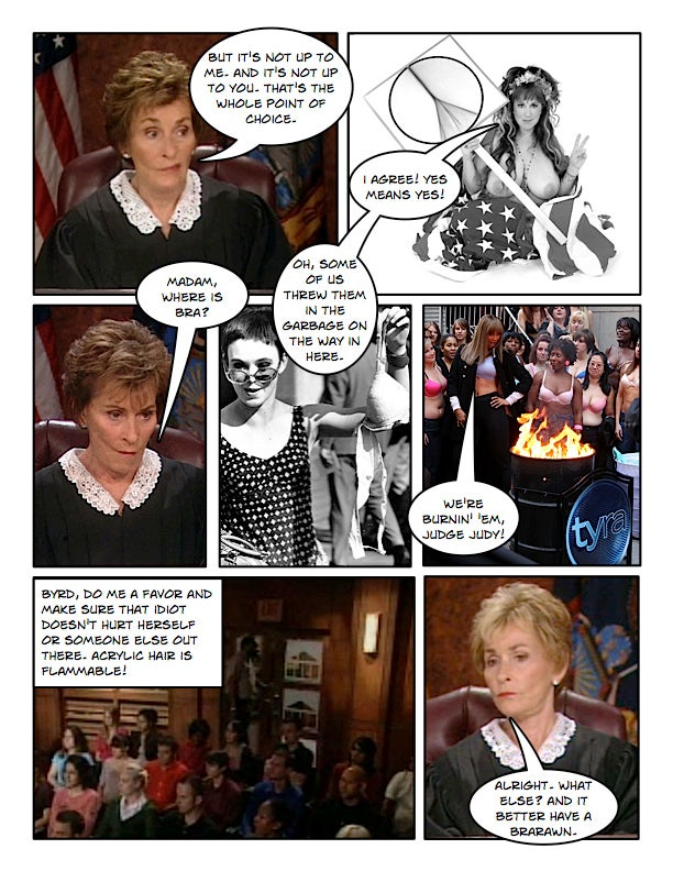 Comic Confrontations: Judge Judy Vs. Feminists