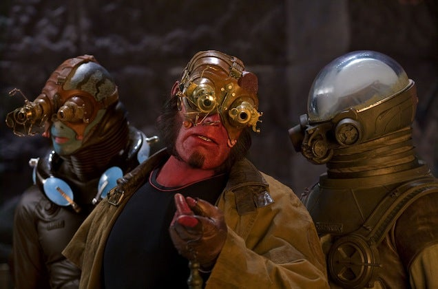 """That Time Hellboy Got """"Steampunk"""" Added To The Dictionary"""