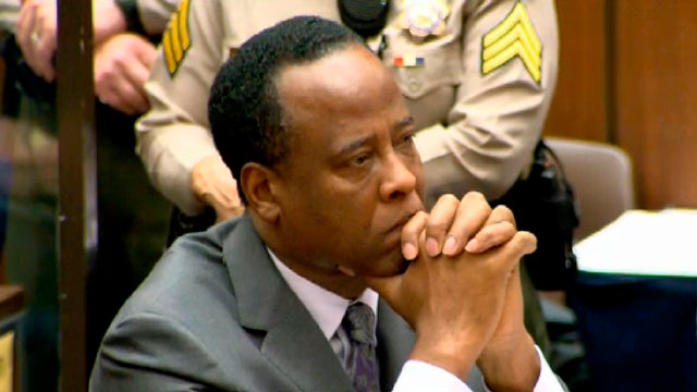 Conrad Murray Sentenced To Four Years For Michael Jackson's Death