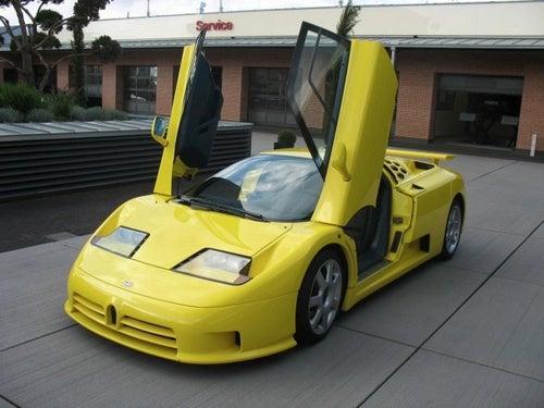 Michael Schumacher Bugatti