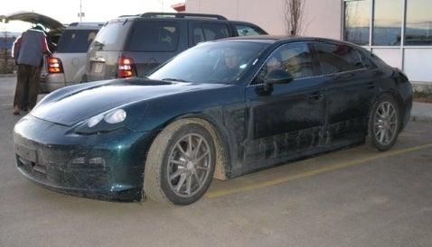 Porsche Panamera: Test Convoy!