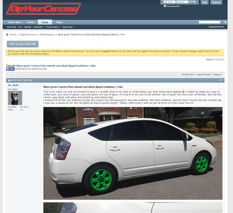 The V8 Prius On Seattle Craigslist Is Fake