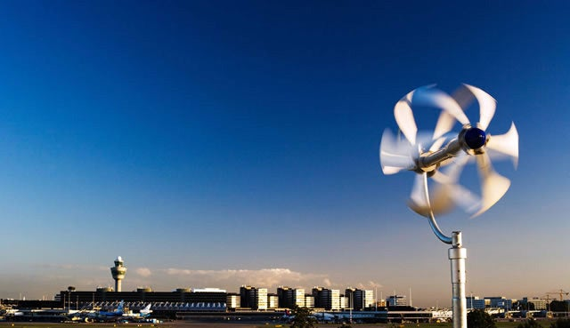 Energy Ball Turns Your Roof into a Wind Turbine Farm