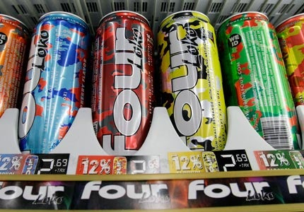 Energy drink consumption linked to increased risk of alcoholism