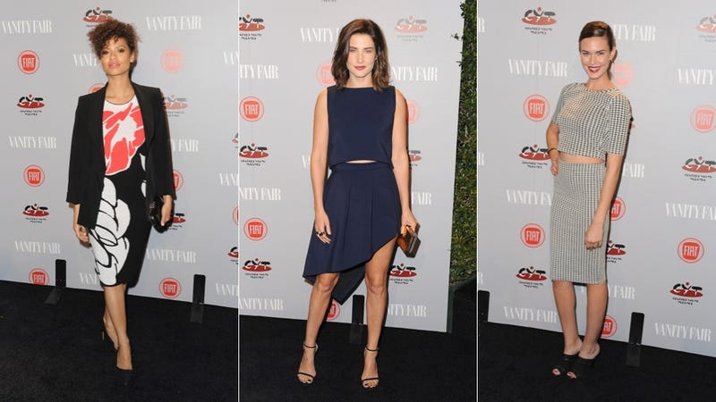 Crop Tops and Plunging Necklines at Vanity Fair Young Hollywood Party