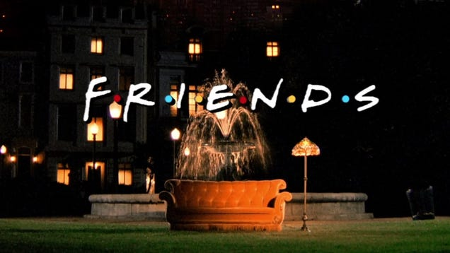 The One Where You Watch Every Episode of Friends