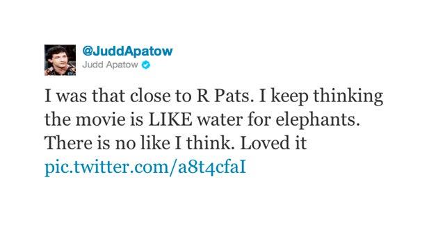 Judd Apatow is 100% Team Edward