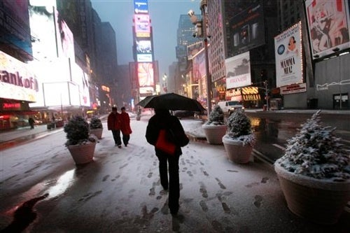 Blizzard Operates on New York Hours
