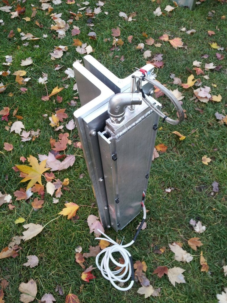 What It Takes to Build a Camping Stove 200 Times Its Normal Size