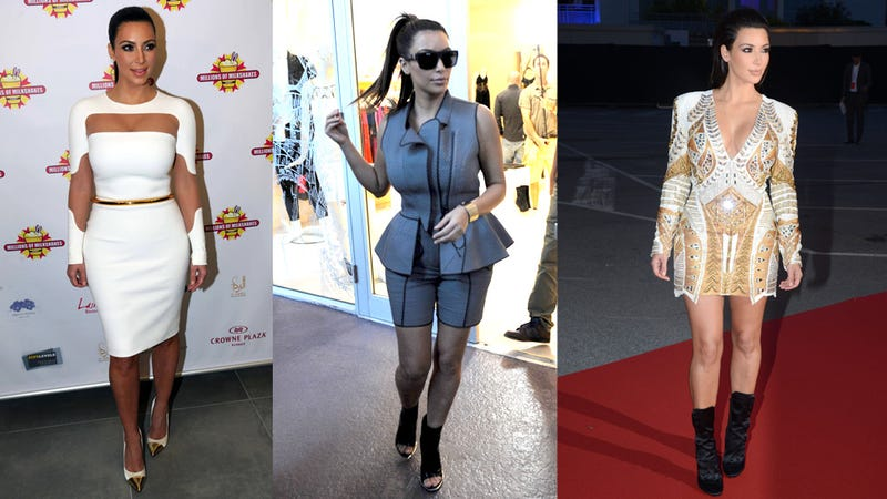 Kim Kardashian's Worst-Dressed Moments of 2012, Courtesy of Kanye West