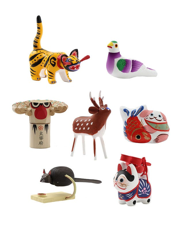 Japanese Toy Companies : Toy company dives into the past with edo period gashapon