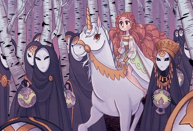 One of this year's loveliest new webcomics has a touch of Ghibli magic