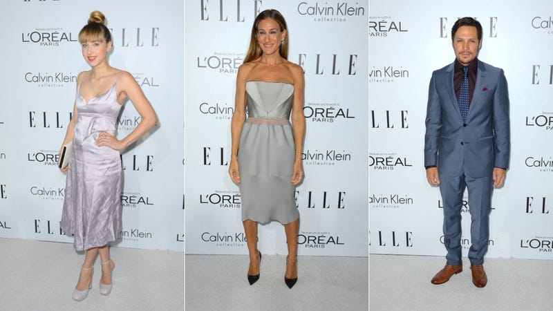 Brightly Colored Dresses and Lea Michele's Ass: The Elle Women in Hollywood Party